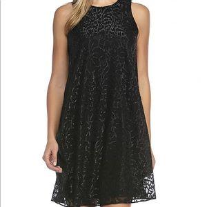 Calvin Klein Sleeveless Trapeze Dress